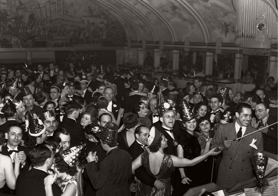 New Years Eve Guy Lombardo Vintage House Party