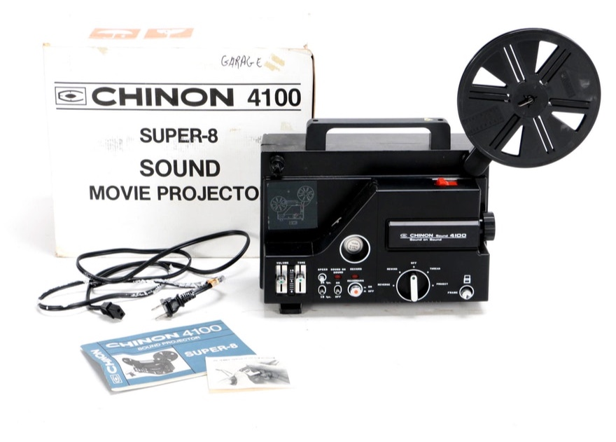 Chinon 4100 Super-8 Movie Projector