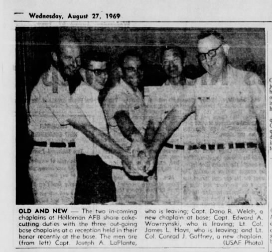 Alamogordo Daily News - August 27, 1969