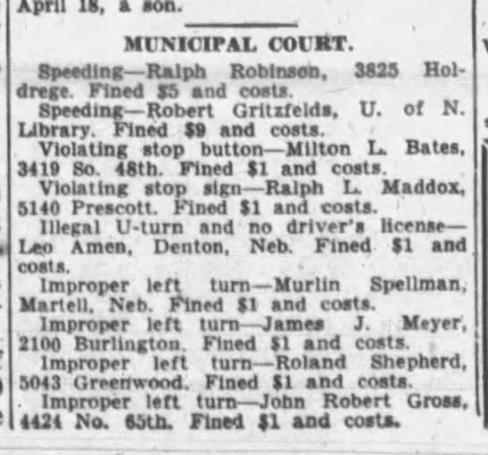 Lincoln Star Journal (Lincoln, Nebraska) - May 1, 1943