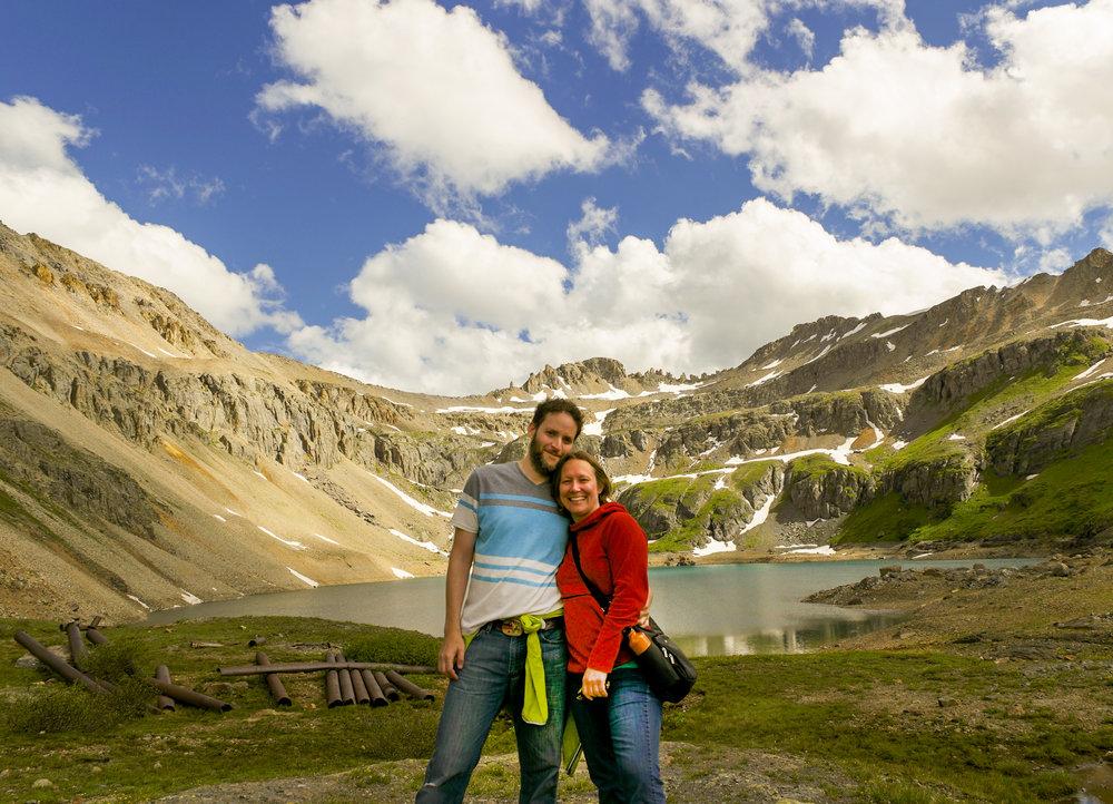 Amy and I in Telluride Colorado.