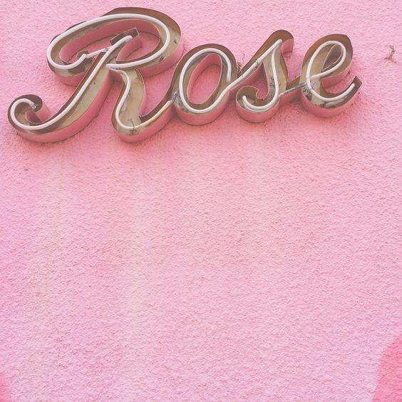 ROSE SIGN
