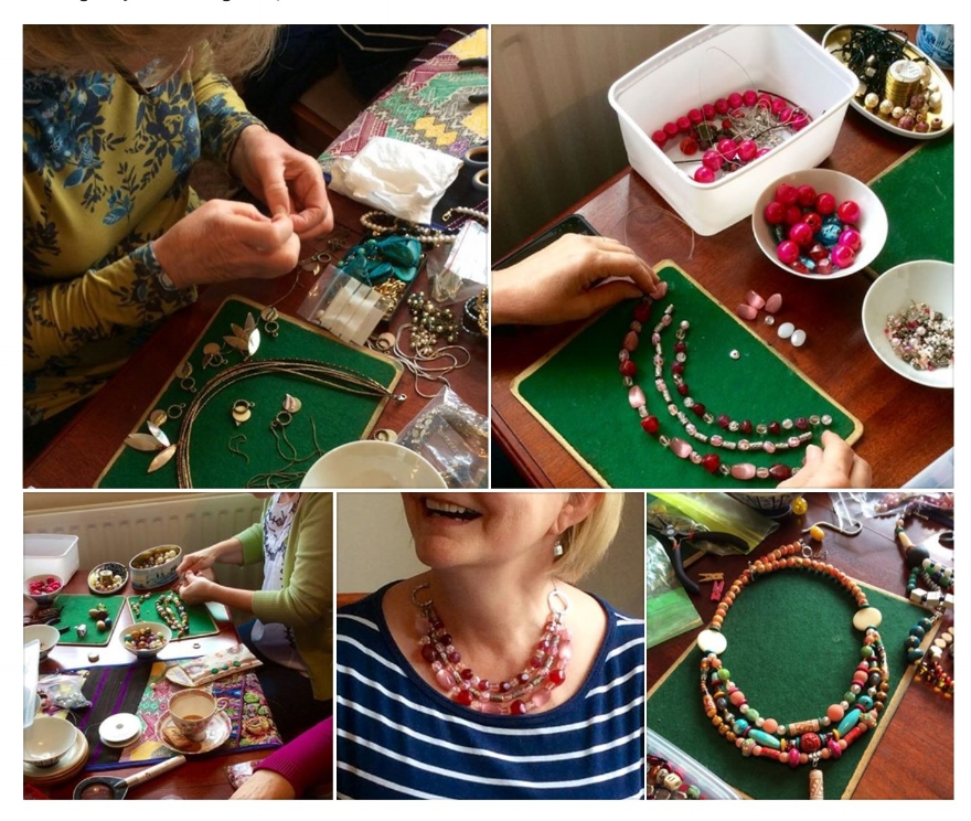 FIONA MARR UPCYCLED BEADS WORKSHOPS