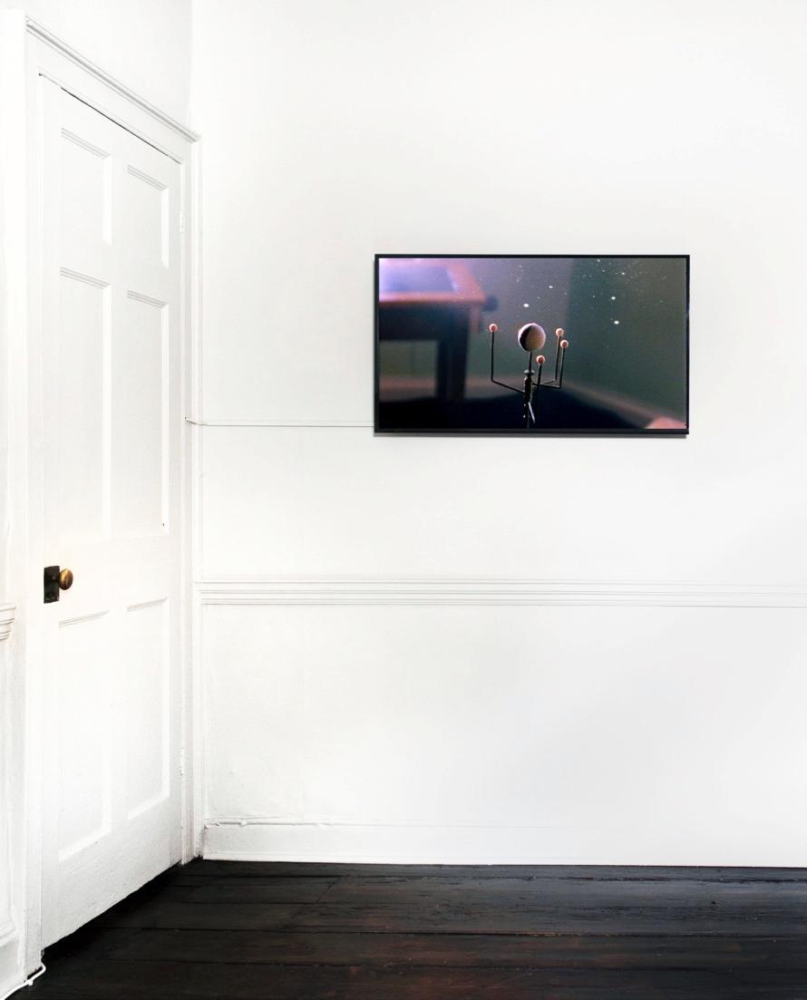 Grace Weir - Dust defying gravity , 2004, 16 mm film transferred to HDV, 4 min