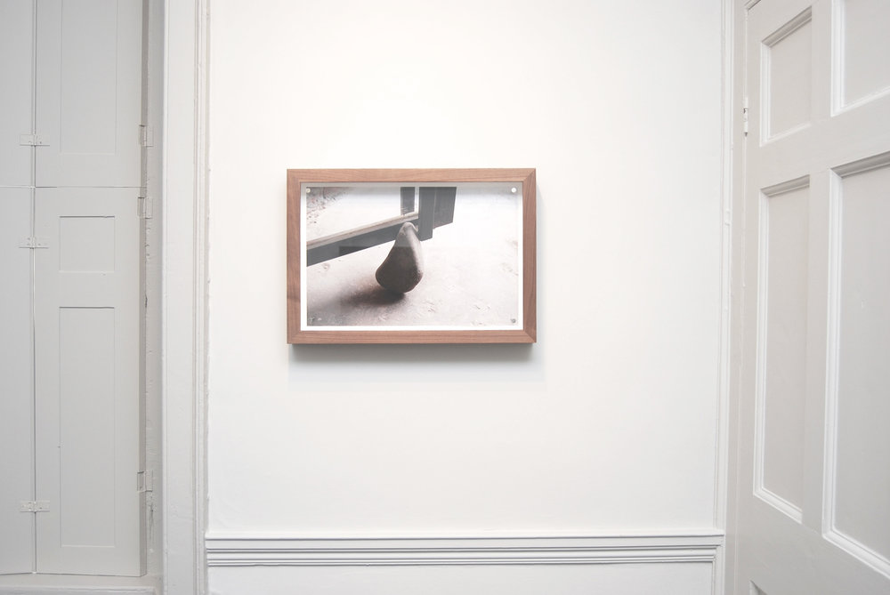 Richard Wentworth – Beijing ,  2007 , 2013, Archival print and nails, 38.5 x 55.2 cm x 7 cm