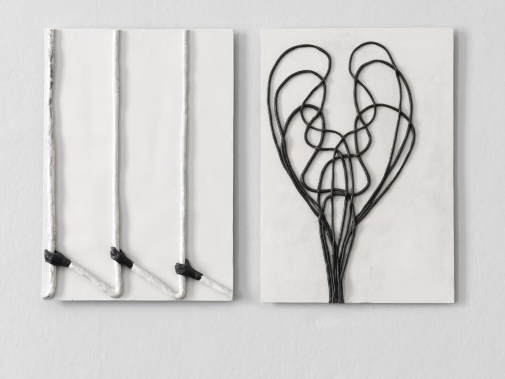 Enrico David Untitled, 2014 Jesmonite, pigment, fibre tissue Cast 1 from an edition of 5 + 2 aps 42 x 30 x 2 cm