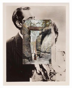John Stezaker ,  High Rocks II,  2014, Collage, 25.6 x 20.4 cm