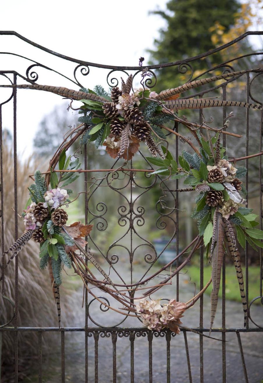 Wreaths at Farley Hill