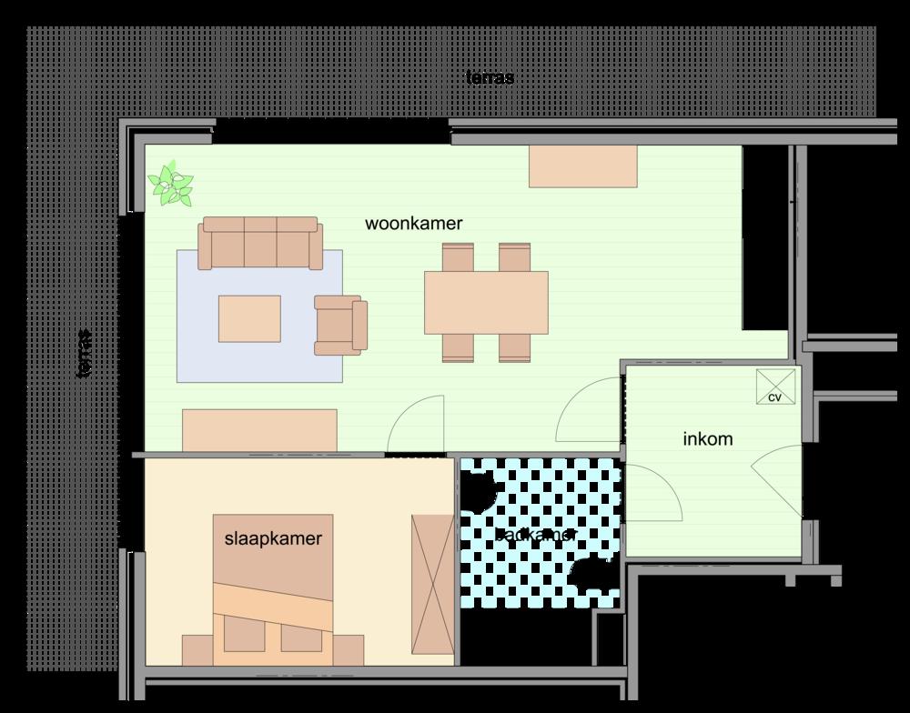 nieuwbouwappartement