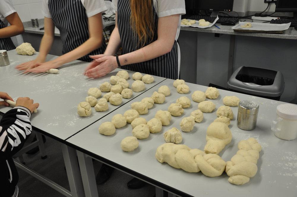 A bread making workshop