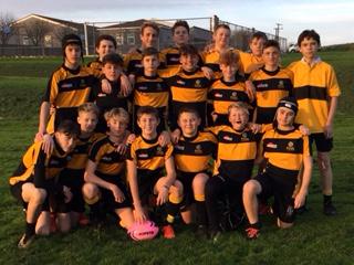 Year 9 Rugby team