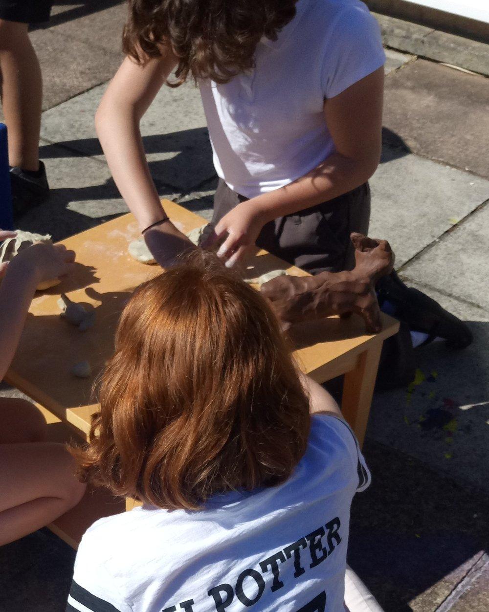 Sculpture making