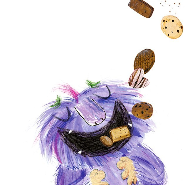 Eating ALL the biscuits 🍪 . I'll be at High Tide Festival, Walthamstow on the 29th for a Chocolate Monster event with @pip.jones.author. There will be drawing, a quiz and lots of fun! For tickets see the link in my biog. . #hightide2018 #walthamstow