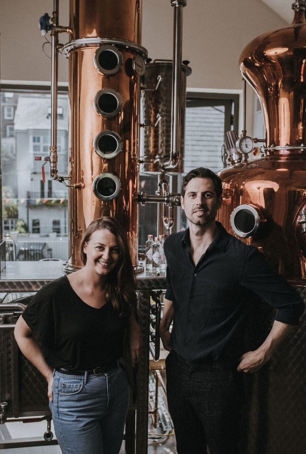 THE DISTILLERS   -  We're Chris and Katie. We met in 2013 and shared our passion for mixology. We started experimenting with many unique, botanical ingredients to see if we could create bar quality cocktails that we serve at our restaurant, with integrity. After endless experimenting, we found a way to bottle our creations with character.    E: katie@rocktails.co.uk & chris@rocktails.co.ukT: 01364 73779Rocktails, 17 Brentmill, Long Meadow, Devon, TQ10 9YT.
