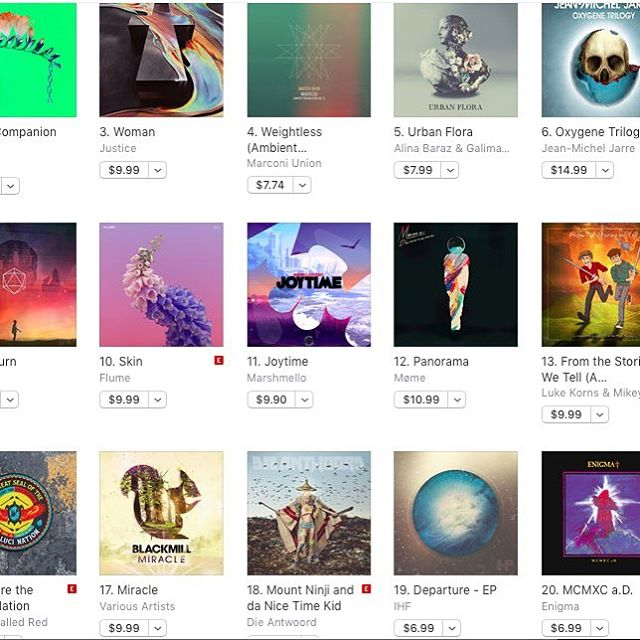 Hit #19 on the iTunes electronic chart! Thank you so much for the support. Link to get my 'Departure' EP in bio. Much love