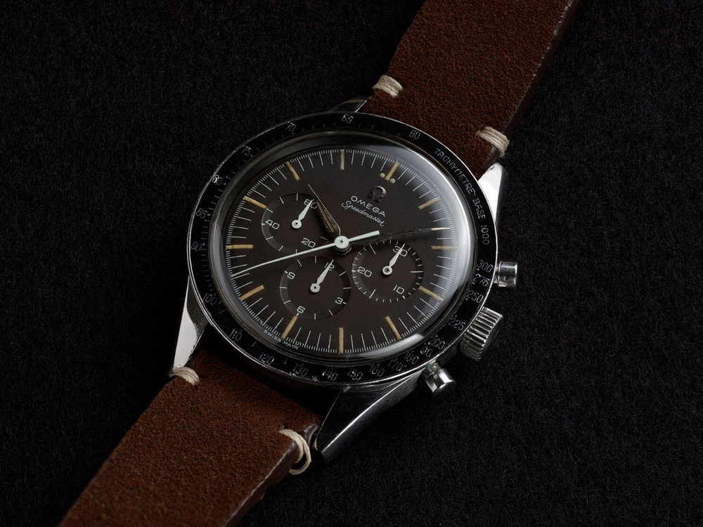 The second Speedmaster was the first Omega in space.