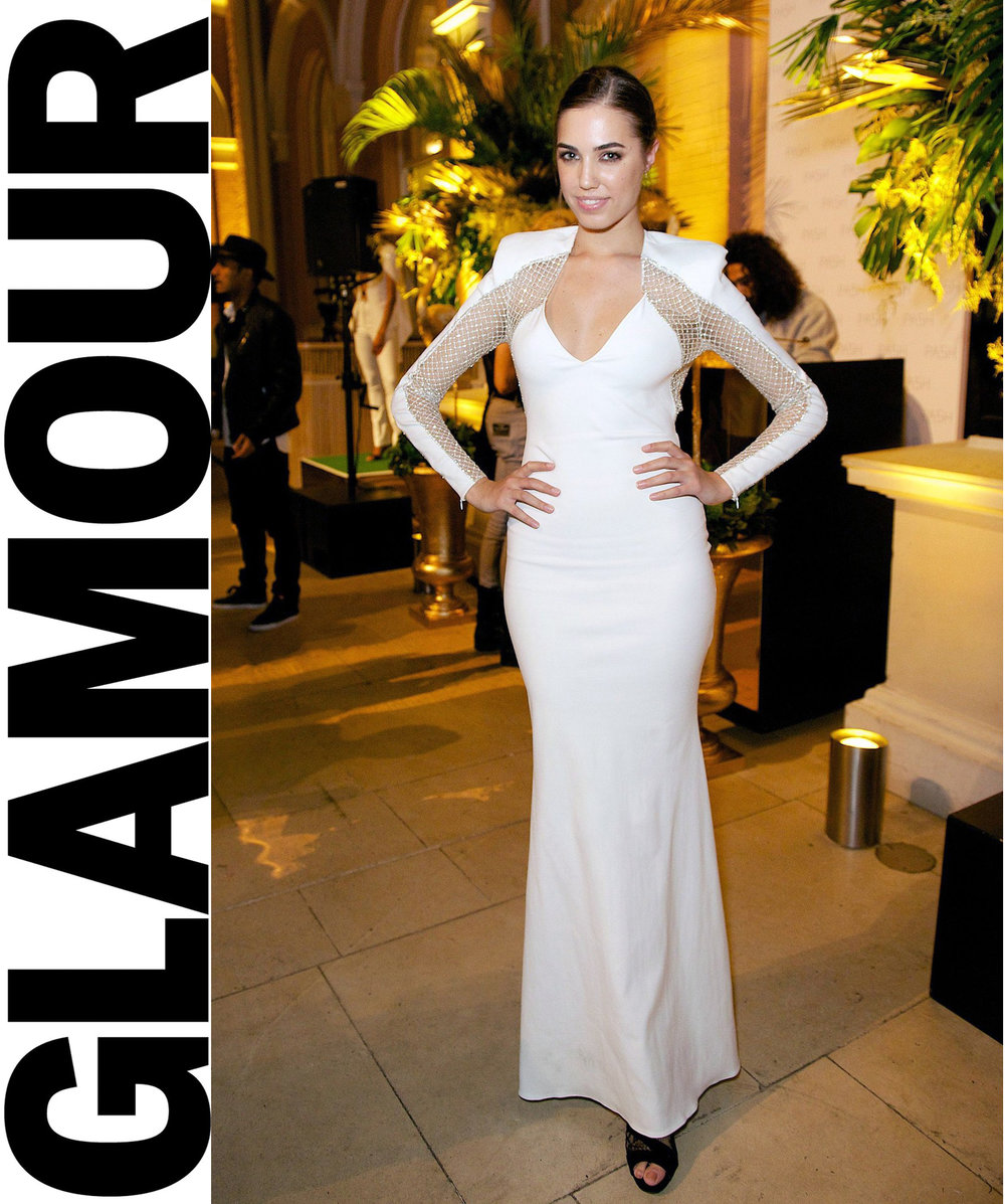 GLAMOUR.CO.UK Amber Le Bon Best Dressed Of The Week On Glamour.Co.Uk