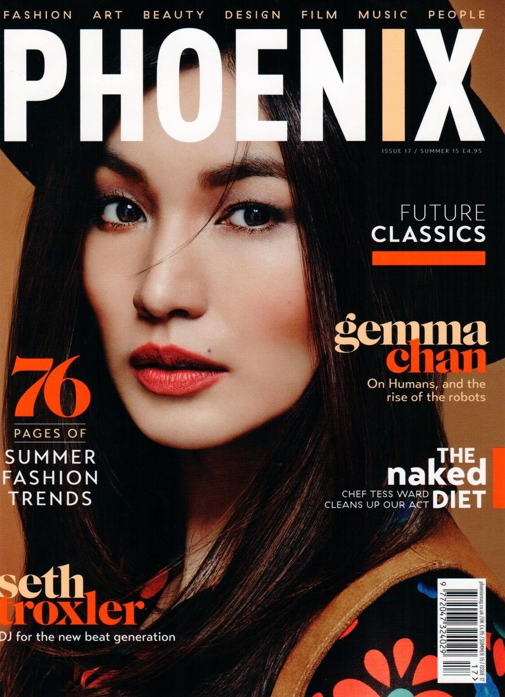 PHOENIX MAGAZINE JULY 2015 PA5H In Phoenix Magazine 'Future Classics' Summer Issue July, 2015.