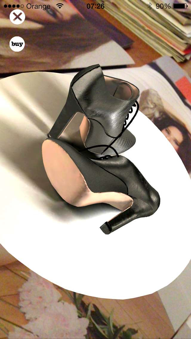 Azzedine Alaïa shoes in the 7POST App