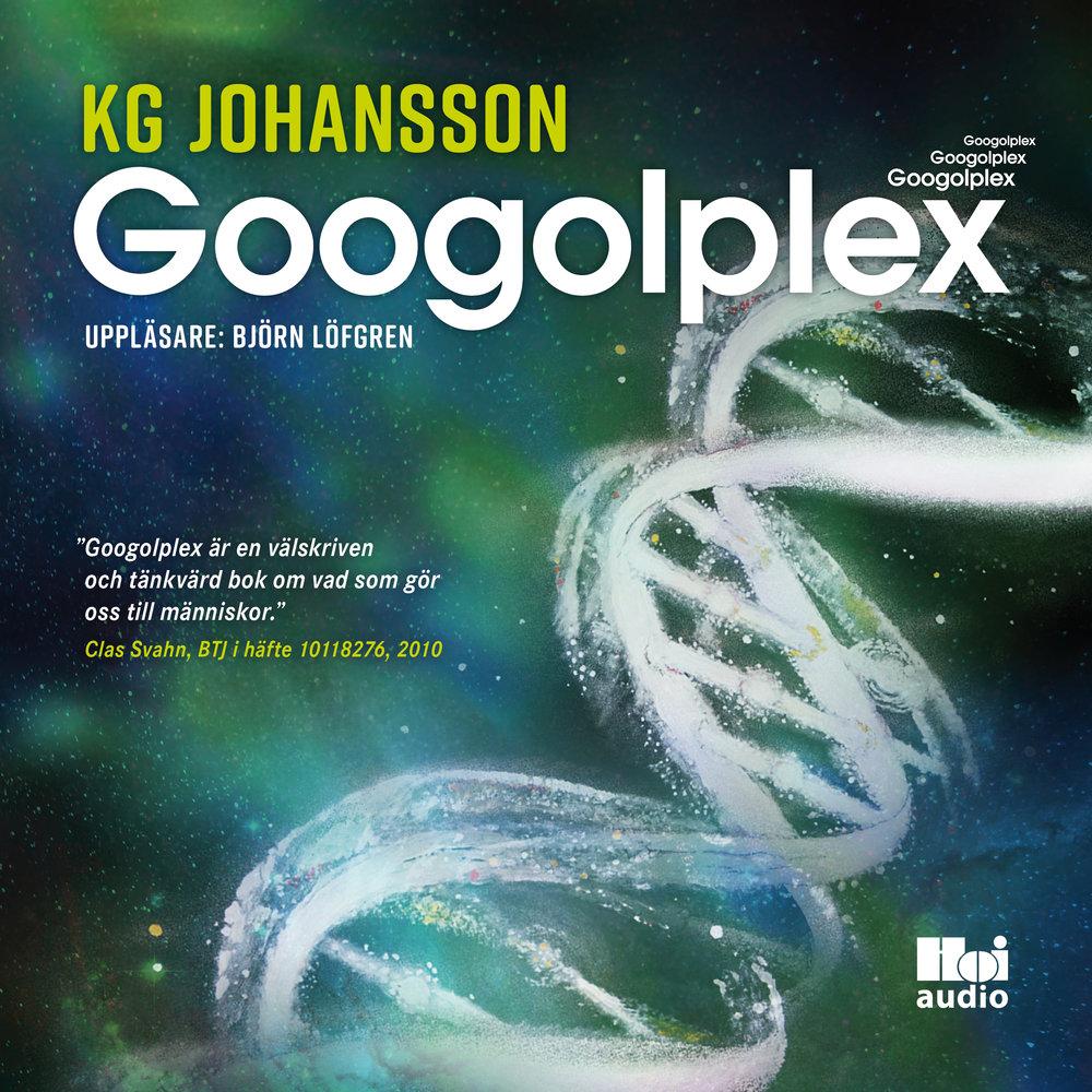 Ljudbok Googolplex av KG Johansson
