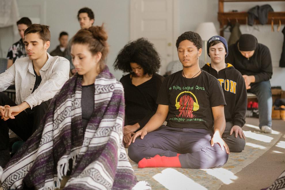 Inward Bound Mindfulness Education (iBme) retreat
