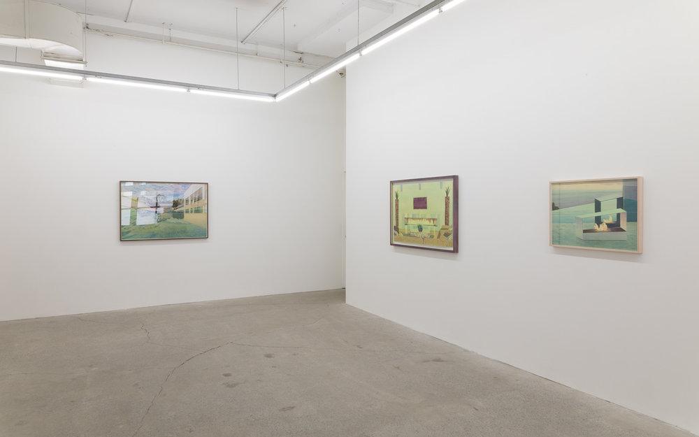 Tristram Lansdowne,  Modal Home , 2017, vue d'exposition