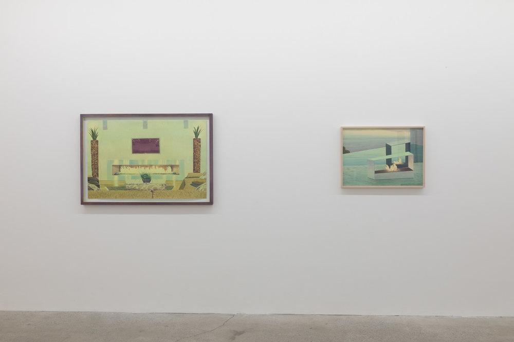 Tristram Lansdowne, Modal Home, 2017, vue d'exposition