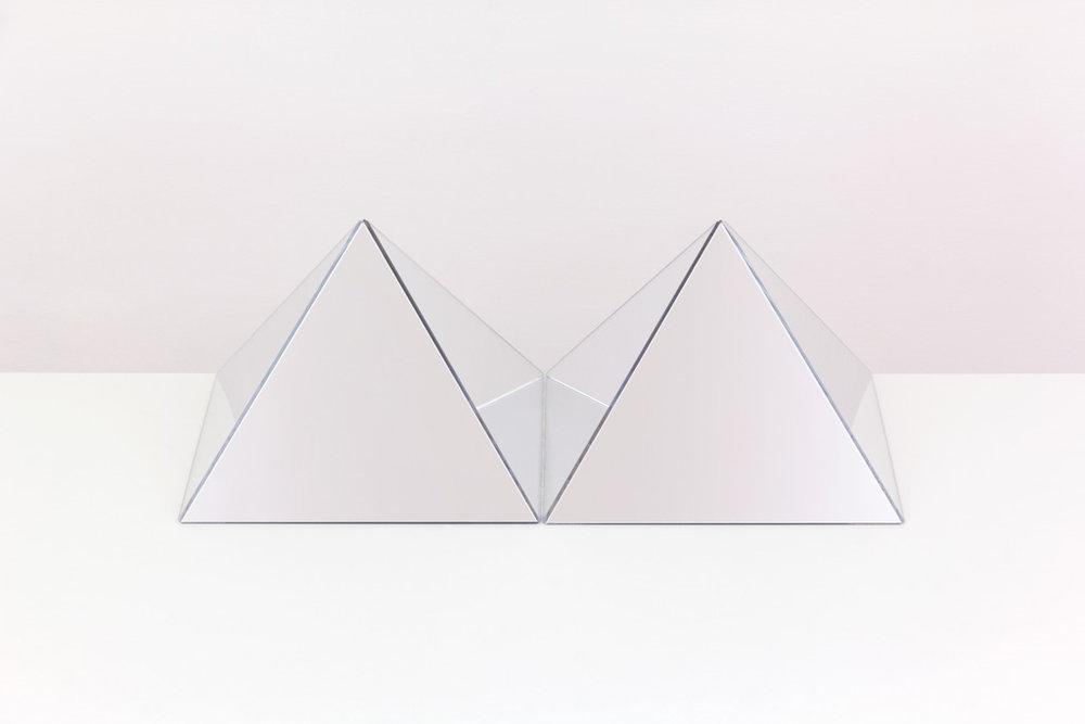 """Caroline Cloutier,  Déploiement 1 , 2016, impression numérique montée sous plexi, 24 X 30"""" (61 X 91 cm)."""