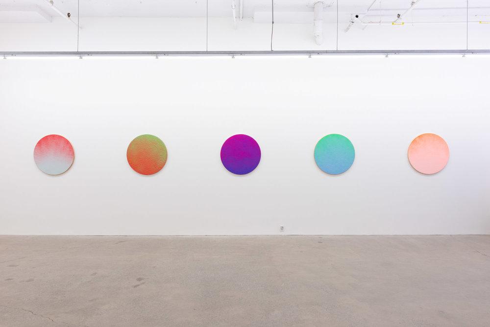 Pierre Julien,  In The Deepest Oceans , 2018, vue d'exposition, Galerie Nicolas Robert, Montréal.