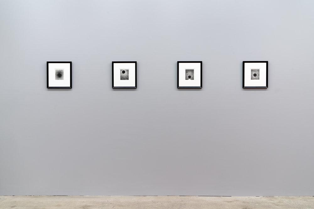 Carl Trahan, vue de l'exposition Das Gleitende - 2