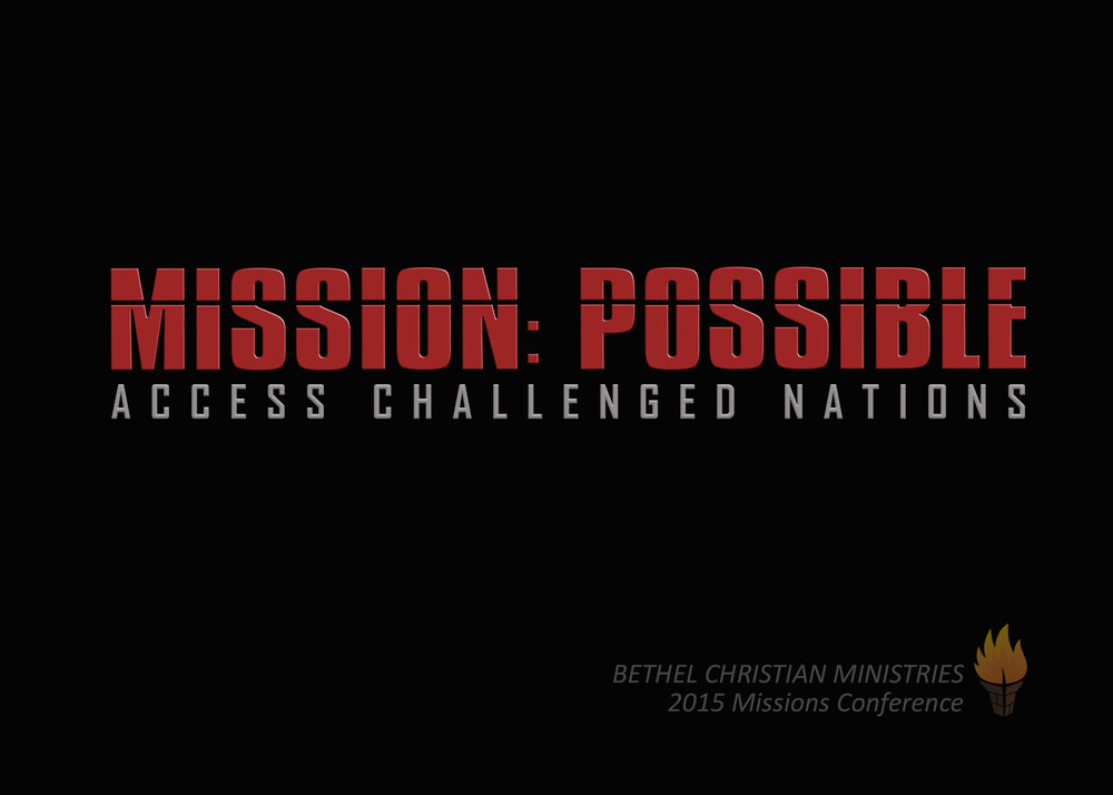 2015 Missions Conference