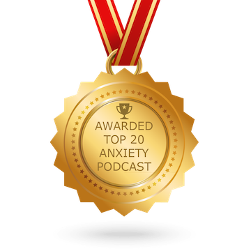A warded Top 20 Anxiety Podcast by Feedspot Blog Reader