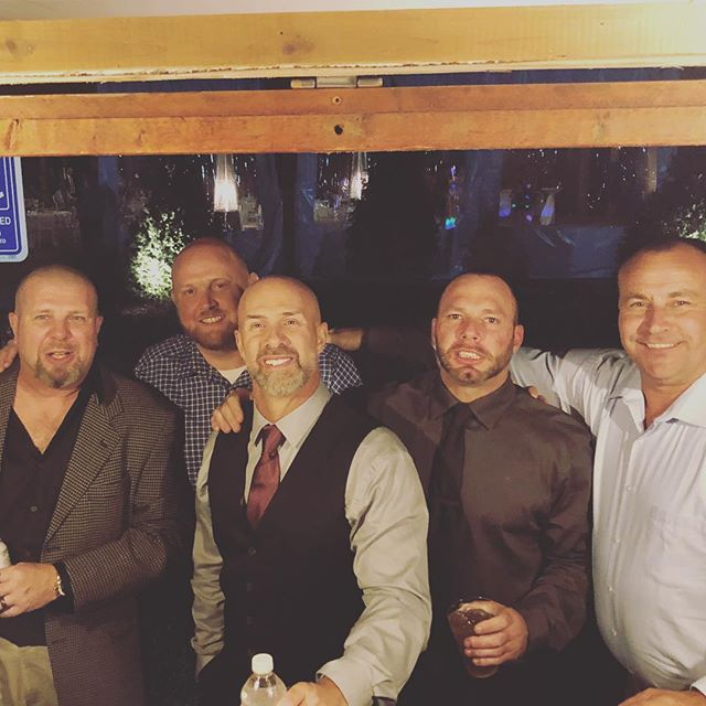 #viewfromthebar Last night was one for the books. This groom and his brothers were part of the best group a bartender could ask for! We had a blast all day and night! Congratulations Misty and Bob! P.s. Kenny from OK, we're coming your way next! #mobilebar #livelavishly