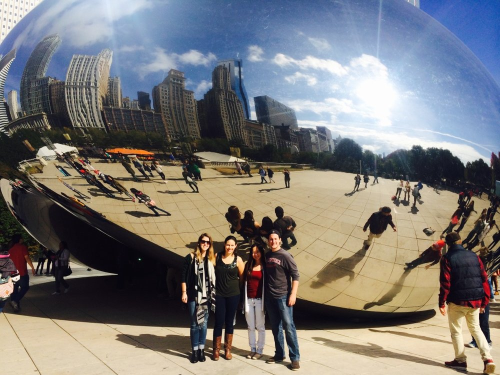 """The Bean"" in Chicago for SfN 2015!"
