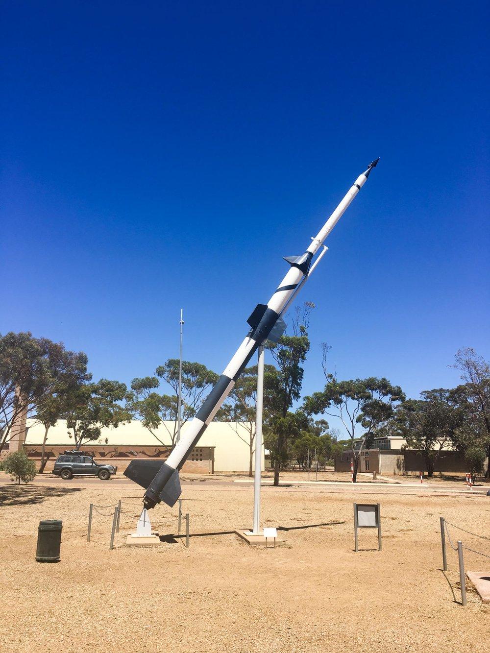 Woomera Missile Park, SA