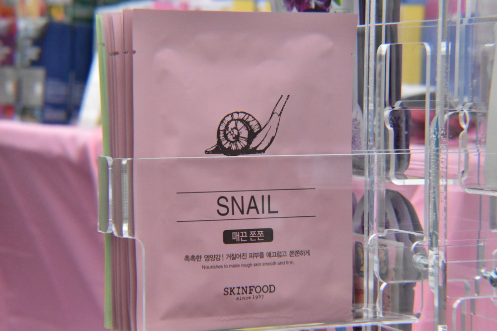 Beauty in a Food Mask - Snail