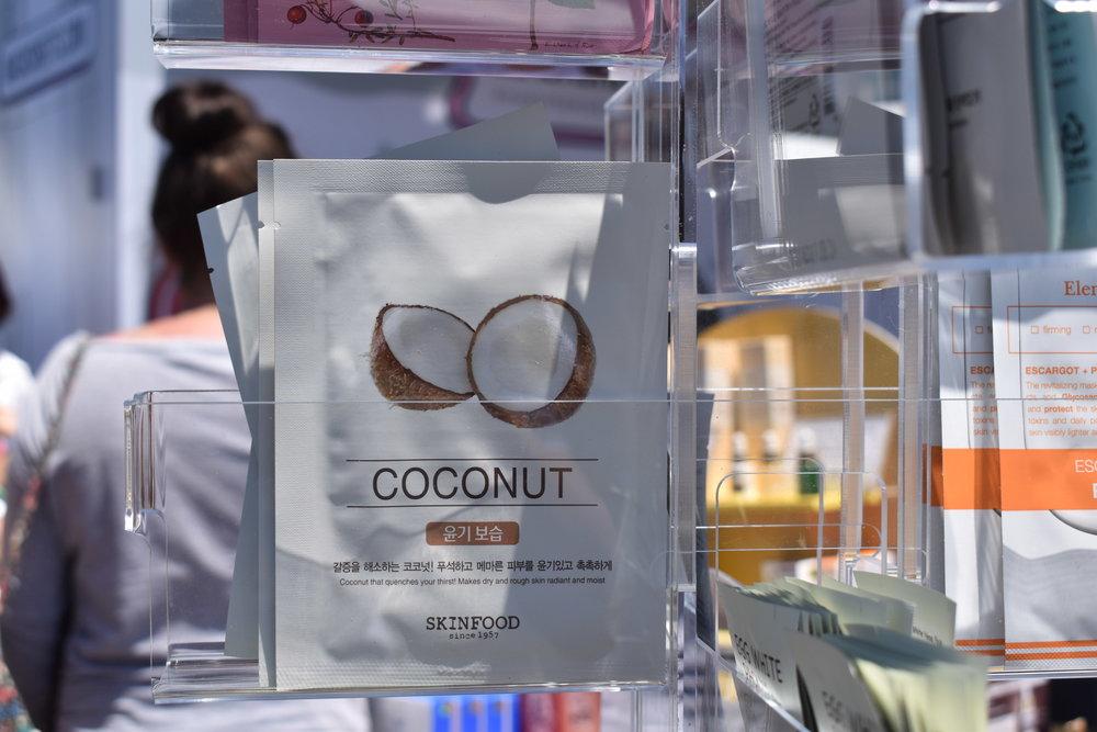 Beauty in a Food Mask Sheet Coconut - SKINFOOD