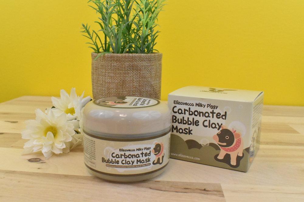 Milky Piggy Carbonated Bubble Clay Mask - Elizavecca