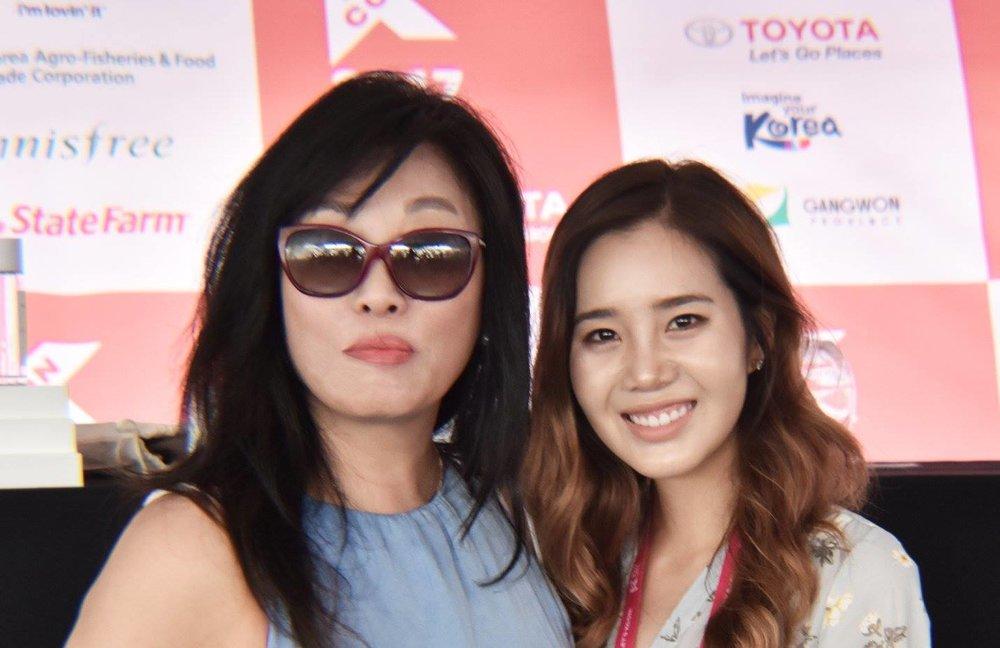 Selfie with Joan Kim