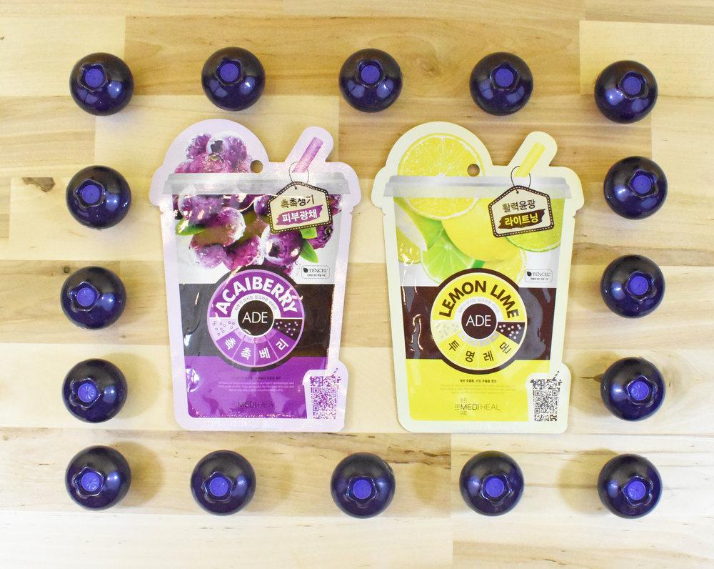 Mediheal acaiberry/lemon -ade Masks