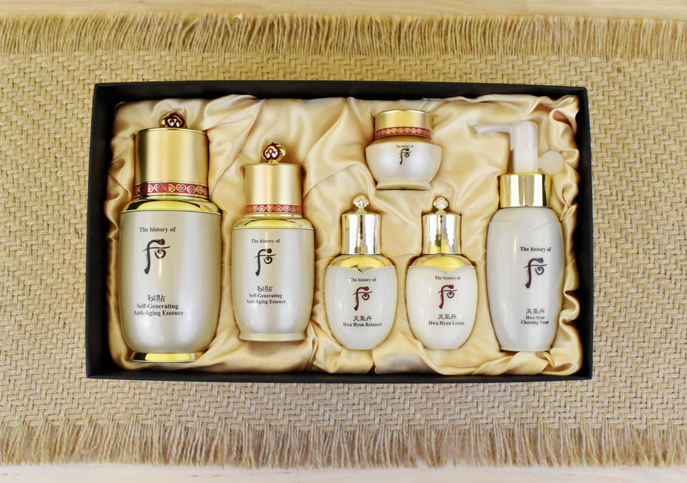 History of the Whoo Skincare Set