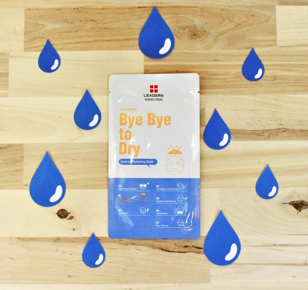 Leaders Insolution Bye Bye to Dry Mask