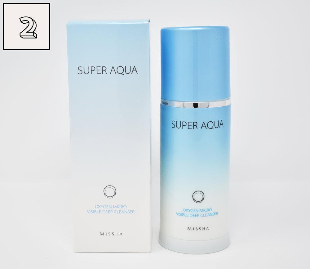 MISSHA Super Aqua Oxygen Micro Visible Deep Cleanser