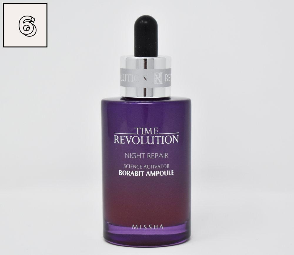 K Beauty Routine Poppy Daisy Missha Time Revolution The First Treatment Essence Night Repair Science Activator Borabit Ampoule