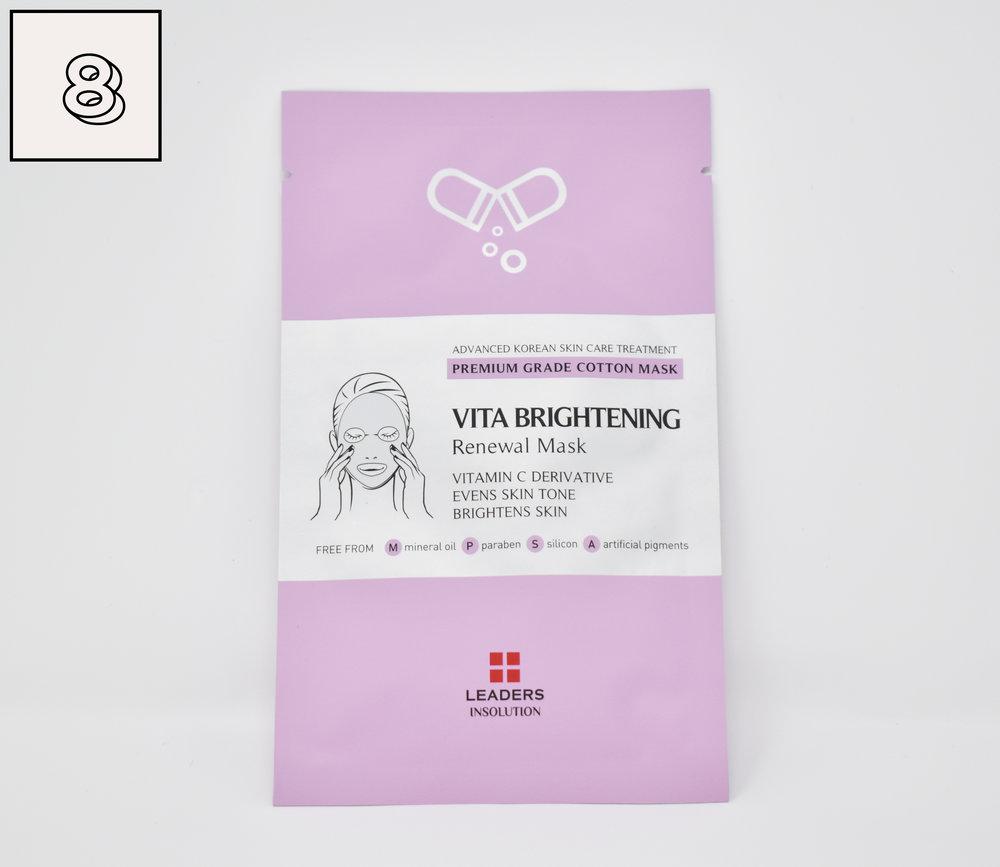 Leaders Vita Brightening Renewal Sheet Mask