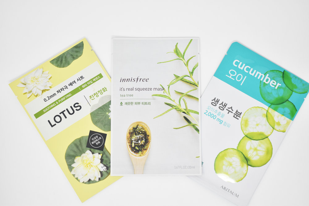 Sheet Mask Bundle (3)