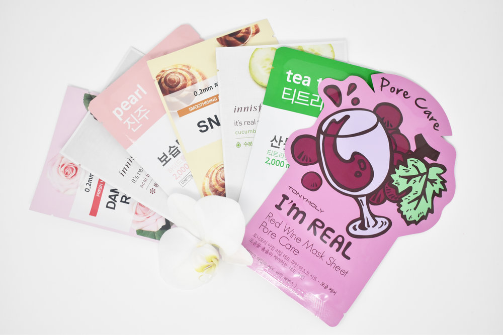 7 Day Sheet Mask Bundle! Pick and choose your own selection ($2.00 Masks only).