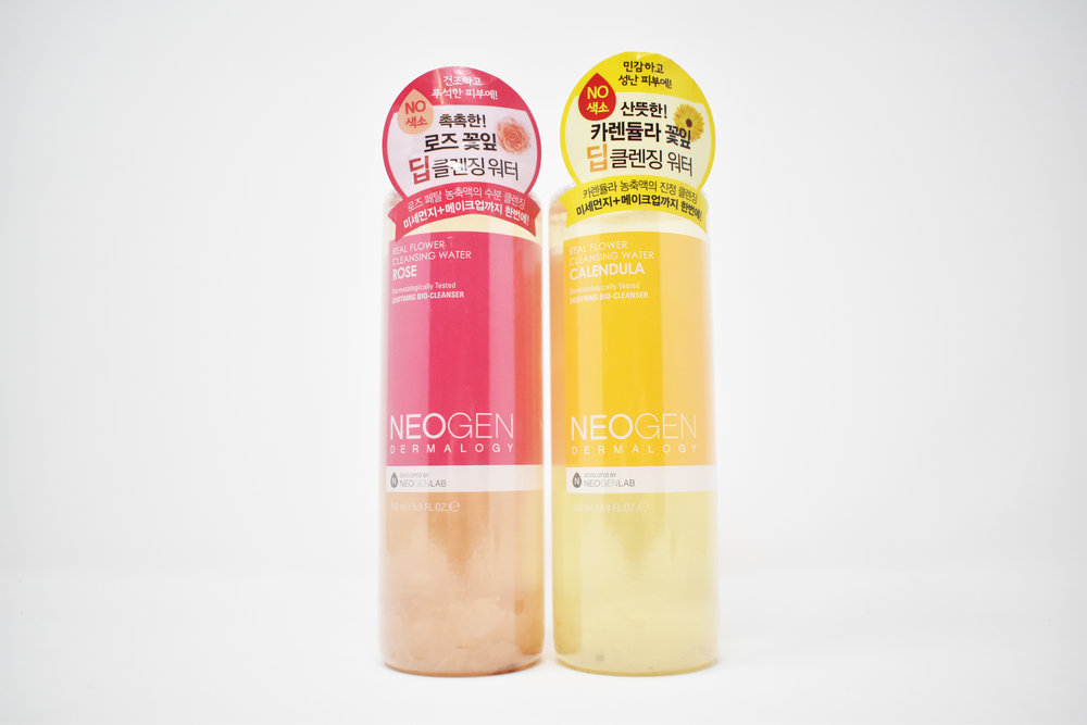 Neogen Real Flower Water Cleanser - Rose or Calendula, your choice!