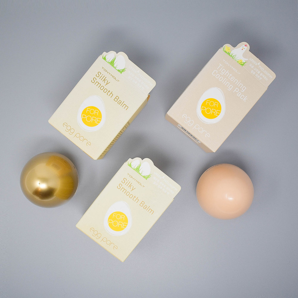 Egg Pore Silky Smooth Balm & Tightening Cooling Pack