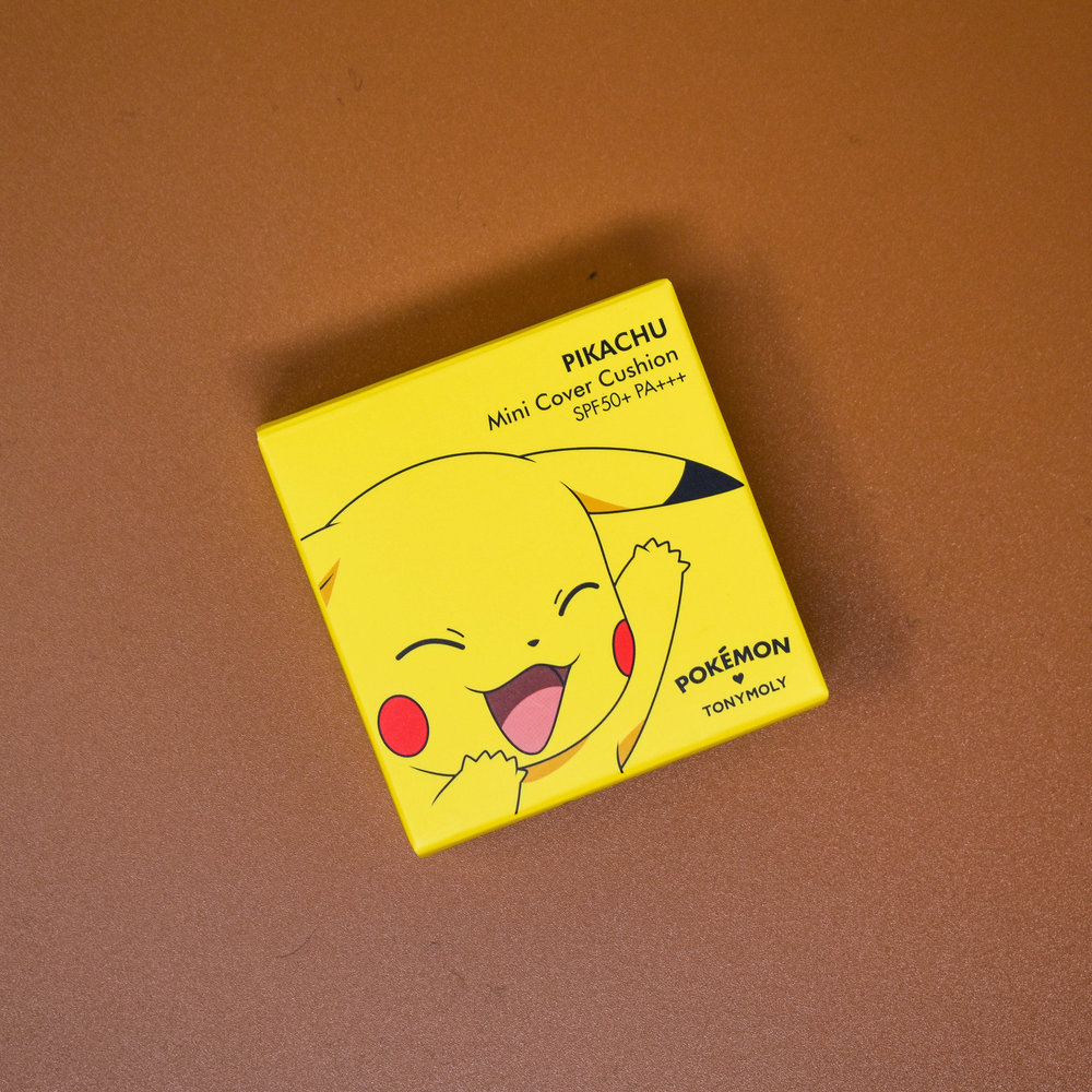 Pikachu Mini Cover Cushion